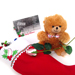 Baseball Rose Stocking Stuffer Gift Set Mini-Thumbnail