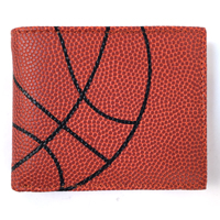 Basketball Themed Men's Wallet