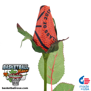 Class of 2018 Basketball Rose - Basketball Themed Graduations  Gifts