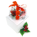 Basketball Rose™ Mistletoe Ornament with Gift Box Mini-Thumbnail