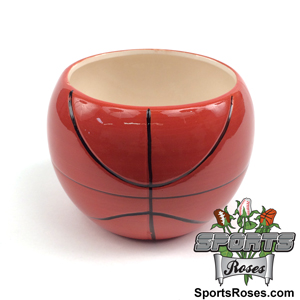 Ceramic Basketball Planter Vase