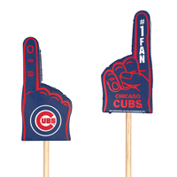 Chicago Cubs Mini Foam Finger Topper