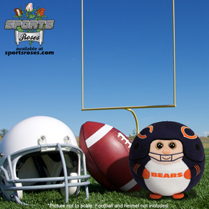 Chicago Bears Beanie Ballz Plush Toy