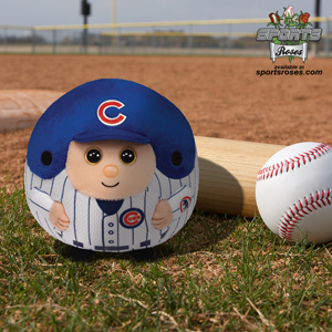 Chicago Cubs Beanie Ballz Clip
