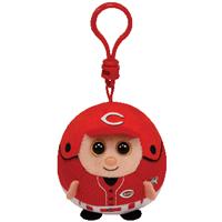 Cincinnati Reds Beanie Ballz Clip