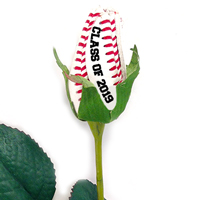 Class of 2018 Baseball Rose Long Stem - Baseball Themed Gifts