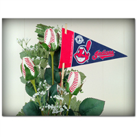 Baseball Gifts|Cleveland Indians Flower Arrangements and Gifts