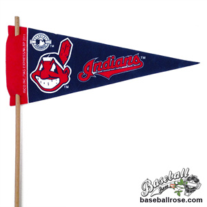 Cleveland Indians Mini Felt Pennants
