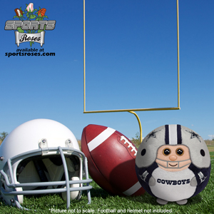 Dallas Cowboys Beanie Ballz Plush Toy