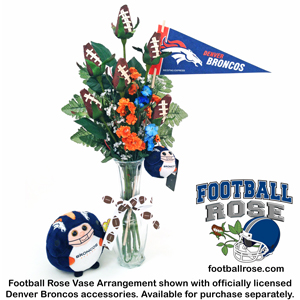 How to Create a Denver Broncos Themed Flower Arrangement with ...