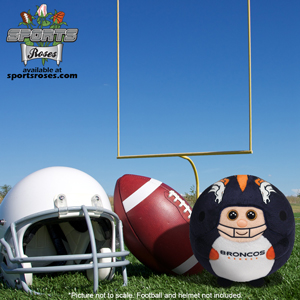 Denver Broncos Beanie Ballz Plush Toy