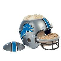 Detroit Lions Snack Helmet Vase Planter