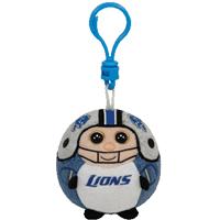 Detroit Lions Beanie Ballz Clip
