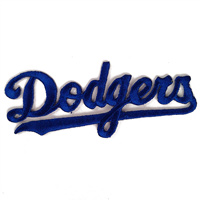 Los Angeles Dodgers MLB Embroidered Team Logo Stickers