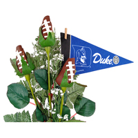 Duke Blue Devils Sports Roses Arrangements - Sports gifts for home or office