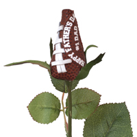 Father's Day Football Rose - Football themed gifts