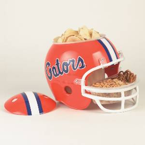 Florida Gators Snack Helmet Vase Planter