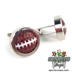 Football Themed Cufflinks