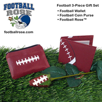 Football gift set for football fans, players, coaches, and team moms