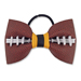 Basic Football Hair Bow - Black and Gold Mini-Thumbnail