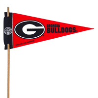 Georgia Bulldogs Mini Felt Pennants