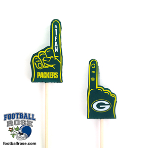 Green Bay Packers Mini Foam Finger Topper