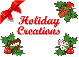 Sports Roses Holiday Creations