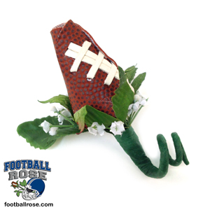 Homecoming 2017 Football Rose Boutonniere