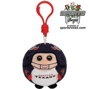 Houston Texans Beanie Ballz Clip