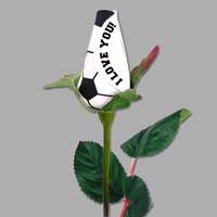 I Love You Soccer Rose - Soccer Themed Gifts