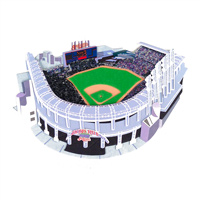 Cleveland Indians Jacobs Field 3D Ballpark Scrapbook Sticker