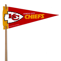Kansas City Chiefs Mini Felt Pennant