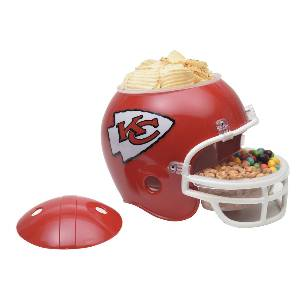 Kansas City Chiefs Snack Helmet Vase Planter