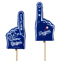 Los Angeles Dodgers  Mini Foam Finger Topper