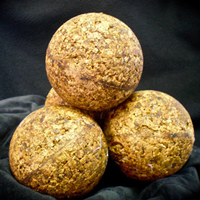 "3.25"" Large Cork Balls - Agglomerated"