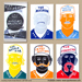 Left Field Cards Series 3 - Marvelous Moustaches Pack 1 Mini-Thumbnail