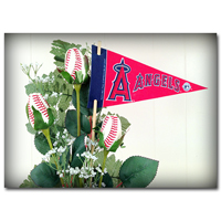 Baseball Gifts|Los Angeles Angels Flower Arrangements and Gifts