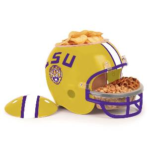 Louisiana State Tigers Snack Helmet Vase Planter