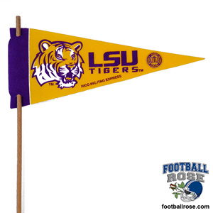 LSU Tigers Mini Felt Pennants
