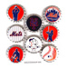 MLB Scrapbook Adhesive Bottle Caps Mini-Thumbnail