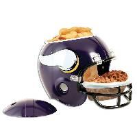 Minnesota Vikings Snack Helmet Vase Planter