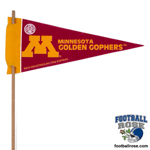 Minnesota Gophers Mini Felt Pennants