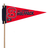 North Carolina State Wolfpack Mini Felt Pennants