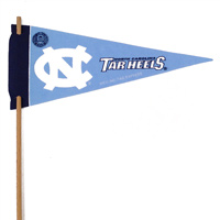 North Carolina Tar Heels Mini Felt Pennants