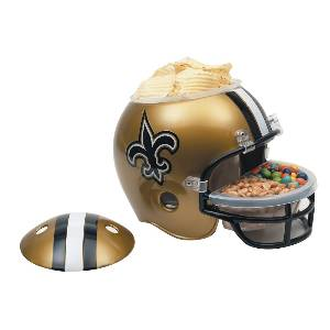 New Orleans Saints Snack Helmet Vase Planter