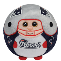 New England Patriots Beanie Ballz Plush Toy
