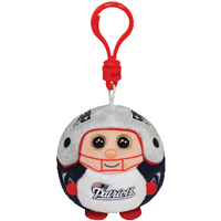 New England Patriots Beanie Ballz Clip