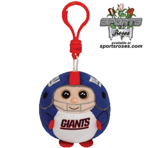 New York Giants Beanie Ballz Clip