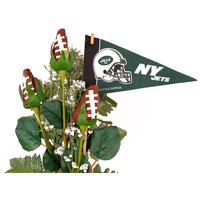 How to Create a New York Jets Themed Flower Arrangement with ...