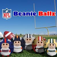 Ty NFL Beanie Ballz